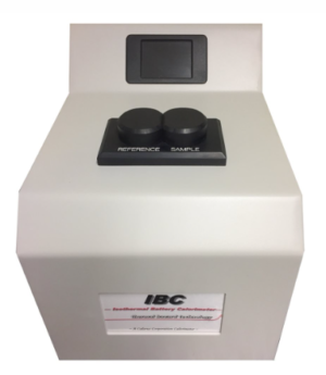 Isothermal Battery Calorimeter Cell Format Coin Cell